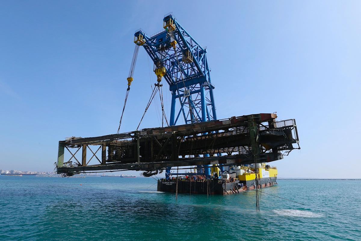 Decommissioning Micoperi